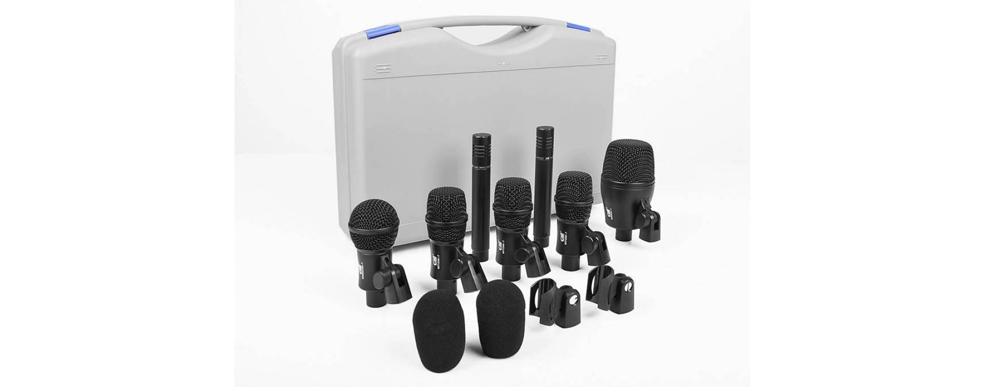Mikrofony na bicí