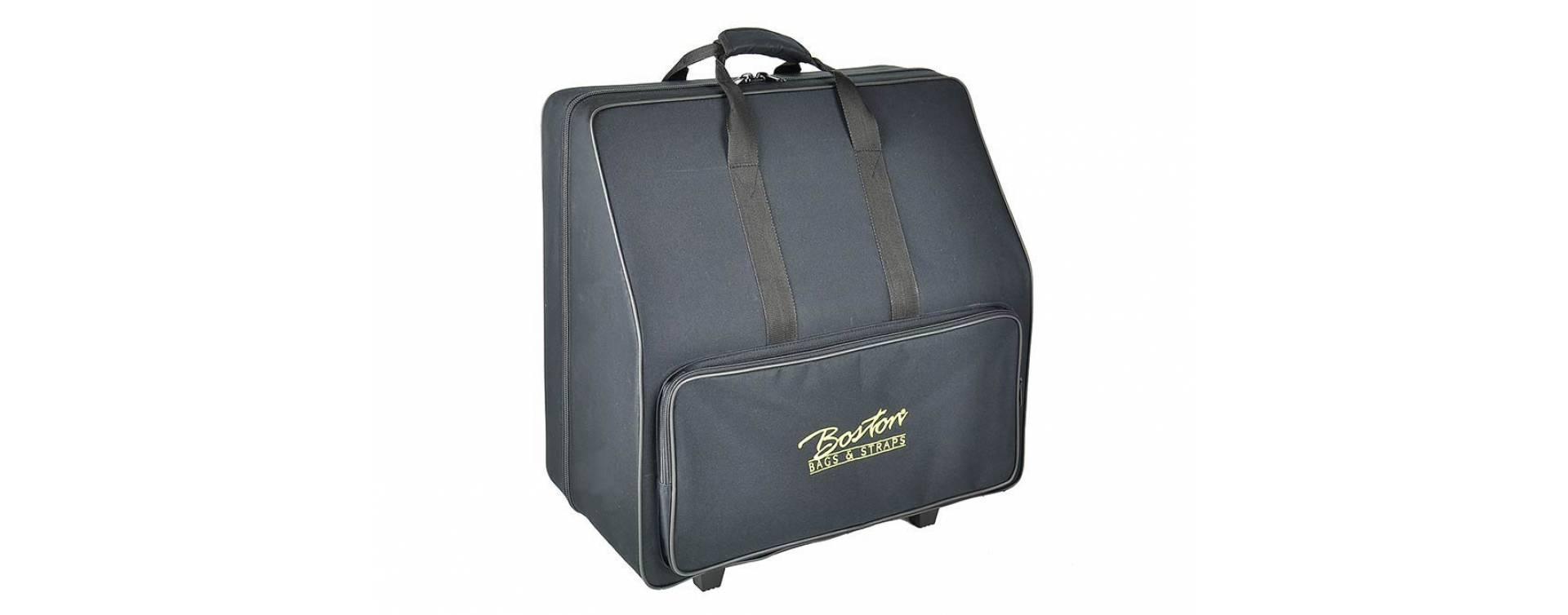 Kufry na akordeony
