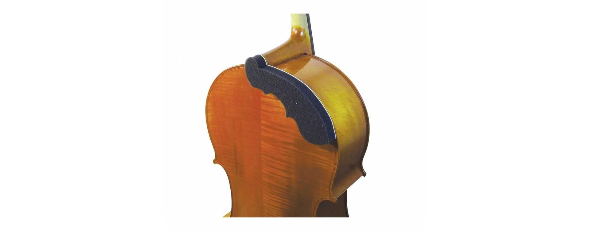 Ramenní opěrky na violoncella