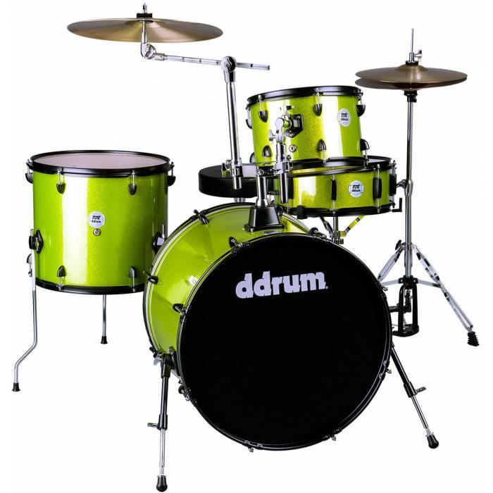 DDRUM D2 Rock Kit Lime Sparkle