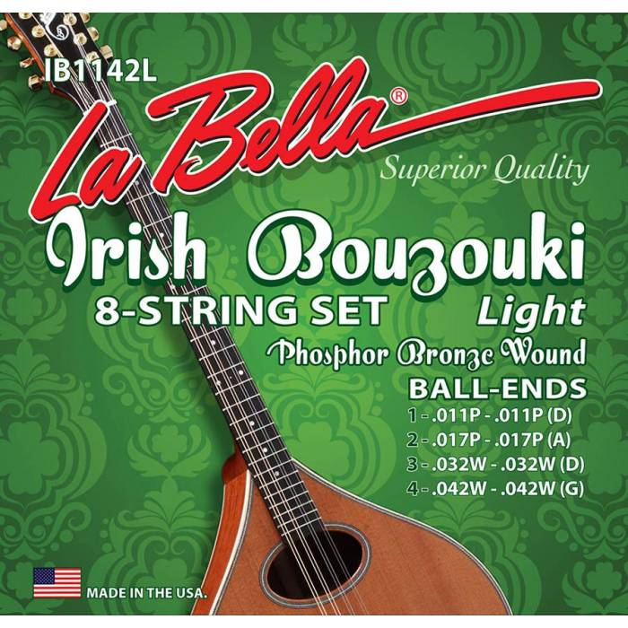 LaBella Acoustic Folk IB1142L