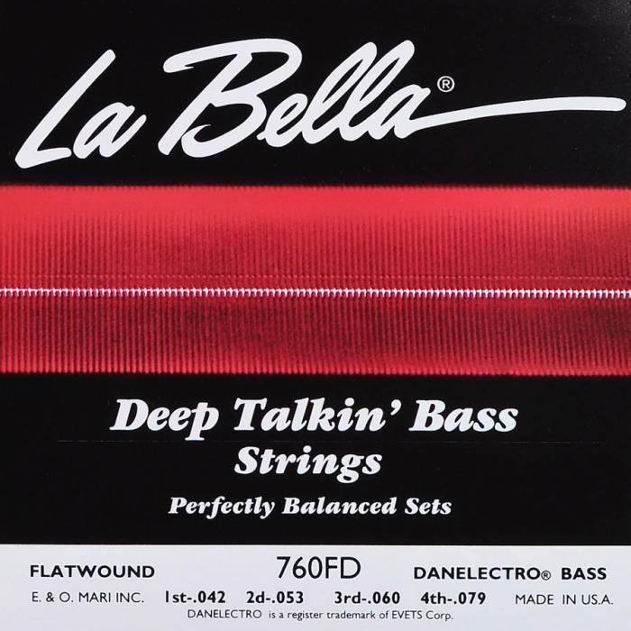 LaBella Deep Talkin' Bass L-760FD