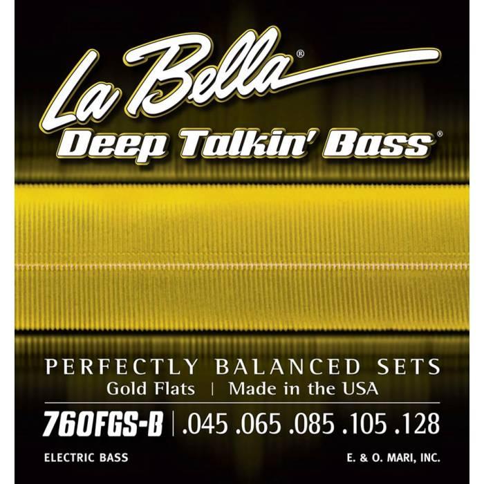 LaBella Deep Talkin' Bass L-760FGS-B
