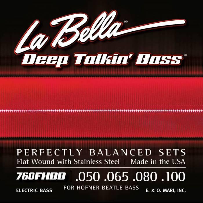 LaBella Deep Talkin' Bass L-760FHBB
