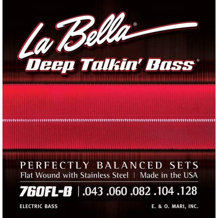 La Bella Deep Talkin' Bass L-760FLB