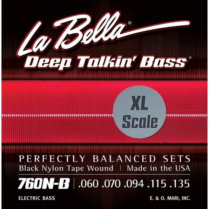 LaBella Deep Talkin' Bass L-760NBXL