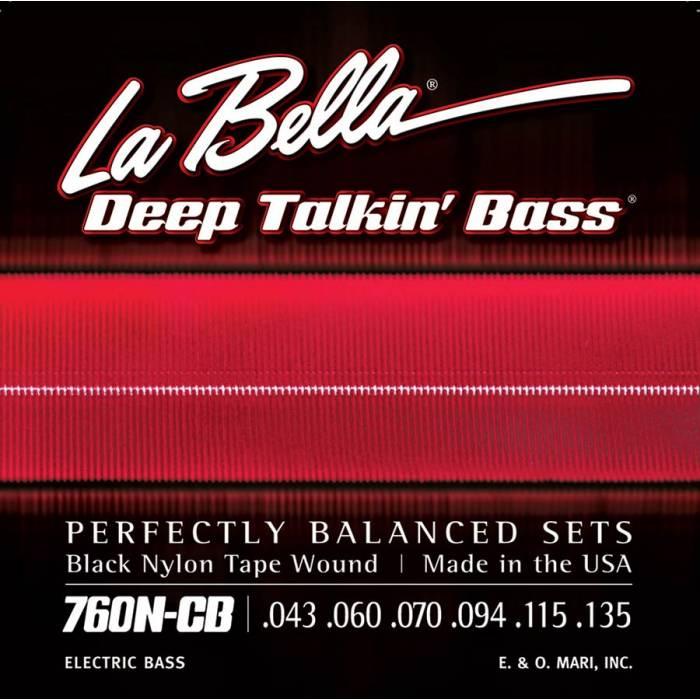 LaBella Deep Talkin' Bass L-760N-CB