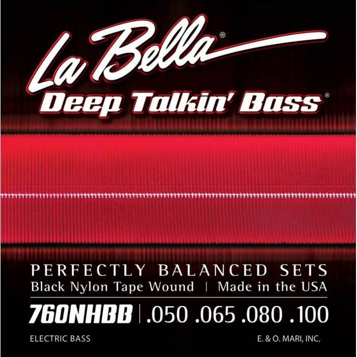 LaBella Deep Talkin' Bass L-760NHBB